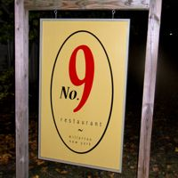 No9RestaurantSign200