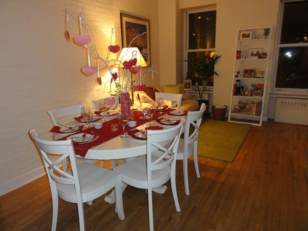 Nyc Valentine S Day Dinner Tablescape Party Planning